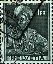 SWITZERLAND - SVIZZERA - 1941 - Soggetti storici - Serie Ordinaria - 1 f.
