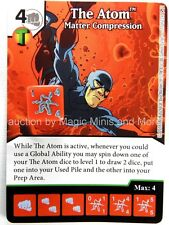 Green Arrow Flash THE ATOM Matter Compression #77 DC Dice Masters card