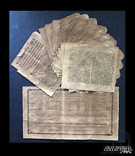 1810 Cuba & Napoleon French Invasion of Spain ~ collection of funds for the War