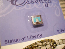 ESSENZA  ITALIAN CHARM - LINKS TOGETHER MAKES A BRACELET - NEW STATUE OF LIBERTY