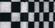 Sitting Fabric Car Upholstery Porsche 911, 924, 928 Pasha black/white new
