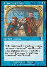 *MRM* FR 2x Recherche Personnelle (Private Research) MTG Urza's Destiny