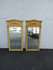 Pair of French Painted Wall Mirrors 7348