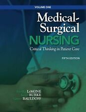 Medical-Surgical Nursing: Critical Thinking in Patient Care, Volume 1 -ExLibrary