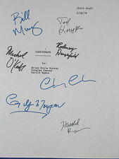 Caddyshack Signed Script X7 Chevy Chase Harold Ramis Knight Bill Murray reprint
