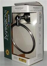 NEW MOEN TOWEL RING Ridgedale Nickel Silver Holder Bar