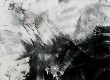 Black and White Large Art Abstract Contemporary Modern Tara Baden Gallery Canvas