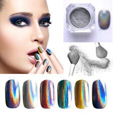 1g Laser Poudre Holographique Glitter Paillette Pigment Chromé Ongles Nail Art