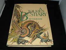 A Tolkien Bestiary - by David Day - 1st edition 1979 - huge hardback book - T5