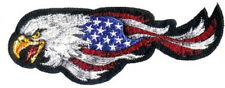USA Aquila testa sinistra ricamate 13x5 cm Eagle Head left Patch