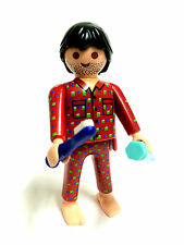 Playmobil  Figures Serie 6 Hombre en pijamas Man in pajamas tooth brush 5458