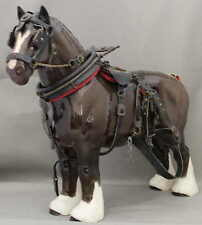 "Royal Doulton Beswick Horse - ""Burnham Beauty"" - Model No. 2309 - Harnessed -"