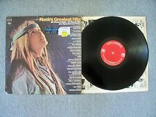 Rock's Greatest Hits 20 Great Artists 1969 Columbia Records Very Good + Cond.