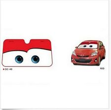 New Cartoon Car Windshield Sun Shade  Big Eyes  Cars Front Red Cute New