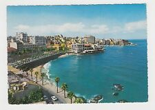 Lebanon Beirut General View from French Avenue Vintage 1960s Color Photo Pc #61