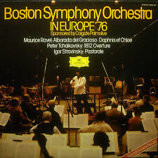 LP BOSTON SYMPHONY ORCHESTRA - in Europe '76, Ozawa, Fiedler