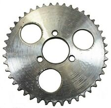 44 Tooth Sprocket, 3-bolt, 29mm I.D  (use 8mm chain) for stand up gas scooter