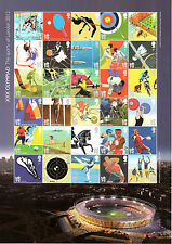 GB London 2012 Olympic Games Sheet of 30 x 1st Class U/M MS3204a