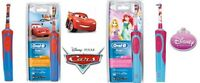 Oral-B Stages Power Disney Princess Cars Electric Rechargeable Kids Toothbrush