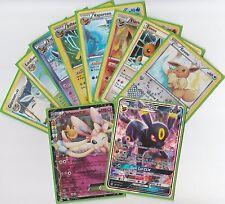Pokemon Eevee Evolution Lot of 10 Cards - All Eeveelutions + 2 Eevee!!
