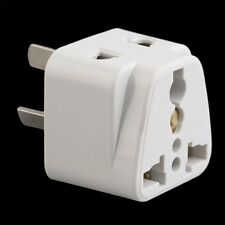 3 pin Chinese Power AU Plug Adapter Travel Converter Australia UK USA EU IM