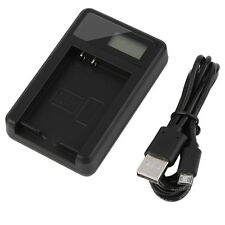 Camera Battery Charger & Mini USB Cable Canon NB2L/H EOS 350D 400D G7 G9 ZR100