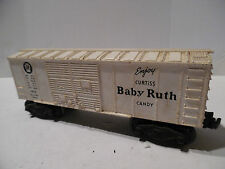 LIONEL # X6014 BABY RUTH CANDY BOX CAR GOOD COND