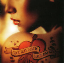 BROWN,PAUL-ONE WAY BACK   CD