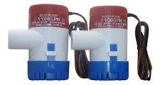 2 SEAFLO Brand  NEW 1100 GPH MARINE Bilge Pump...USA SELLER