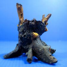 UP Imitation trunk resin Aquarium OrnamentDecor - Drift Wood water plant pot