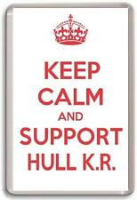 KEEP CALM AND SUPPORT HULL KR. HULL K.R. RUGBY TEAM Fridge Magnet