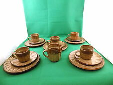 Studio Pottery Tea Set Stamped nr 1