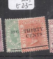 Straits Settlements SG 86-7 MOG (4dkg)