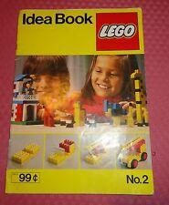 No.2 Idea Book LEGO - 1977  Denmark