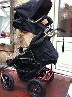 abc adventure everest new zealand double buggy /twin from the makers of Phil ted