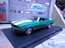 Chevrolet Camaro RS met verde verde Weiss v8 us muscle car 1969 Ixo nuevo 1:43