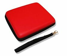 NINTENDO 2DS RACING RED CARRY CASE PROTECTIVE BAG & STRAP UK Seller