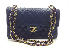 Chanel Vintage Timeless Classic Quilted Matelasse Small Double Flap bag REDYED