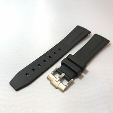 LUXURY QUALITY SILICONE RUBBER 20MM WATCH STRAP/BAND For ROLEX SUBMARINER