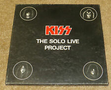 KISS THE SOLO LIVE PROJECT 4LP PICTURE DISC BOX SET