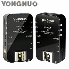 YONGNUO Wireless TTL Flash Trigger YN622 N YN-622 N with HSS 1/8000 for Nikon