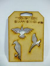 Wargames mperial Marine Space Birds of Prey Eagles Snappy Stencil #18b