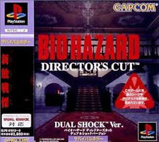 BIOHAZARD Director's cut Dual Shock  Ver.   PS BIO HAZARD Japan