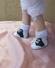 "Doll Shoes - S20 Two-toned Saddle Oxford size 6 (2 "" length)"