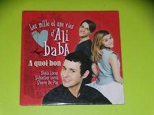 CD  SINGLE - S. LACEN - S. LORCA - S. DE LA PAZ - A QUOI BON  - 2000