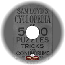 Sam Loyds Puzzle Book { A Collection of Books of Amusement } on DVD