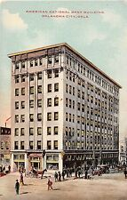 Oklahoma postcard Oklahoma City American National Bank Building ca 1910