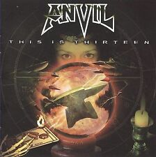 This Is Thirteen by Anvil (CD, Sep-2009, VH1 Classic Records)