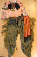 New Disney Store Lone Ranger TONTO Indian Costume Boys XS (4)