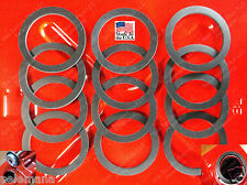 12 Jerrycan Spout Gaskets Gas Fuel Can Gallon 20L Military Army Rubber NEW GSKTS